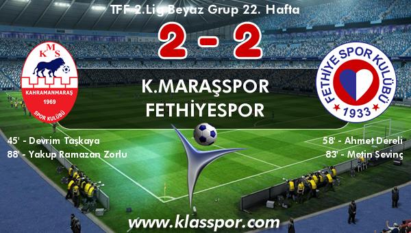 K.Maraşspor 2 - Fethiyespor 2