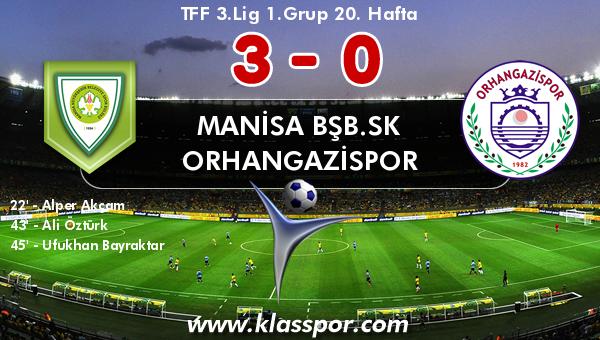 Manisa BŞB.SK 3 - Orhangazispor 0