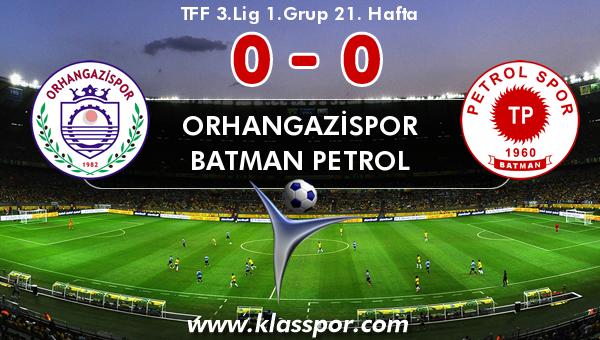 Orhangazispor 0 - Batman Petrol 0