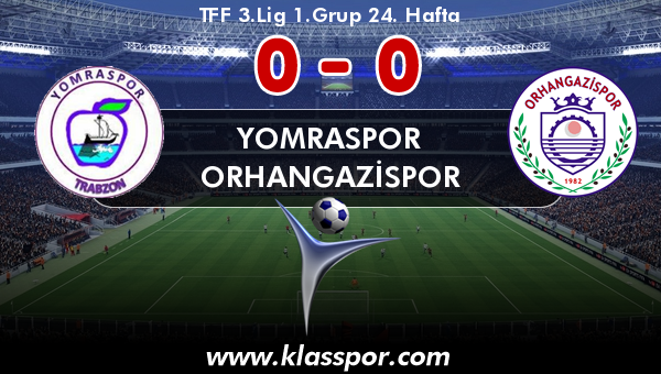 Yomraspor 0 - Orhangazispor 0