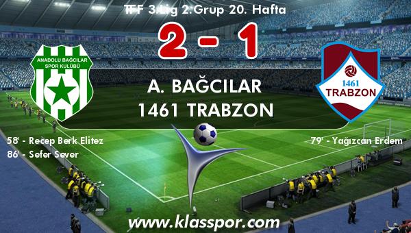 A. Bağcılar 2 - 1461 Trabzon 1