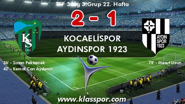 Kocaelispor 2 - Aydınspor 1923 1