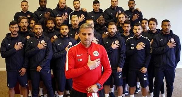 Antalyaspor'dan Mehmetçiğe destek