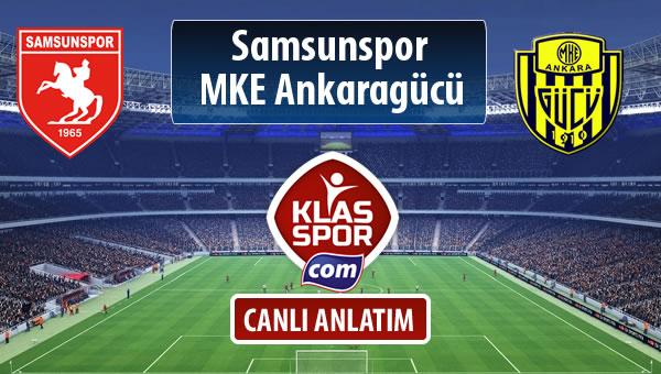 Samsunspor - MKE Ankaragücü maç kadroları belli oldu...