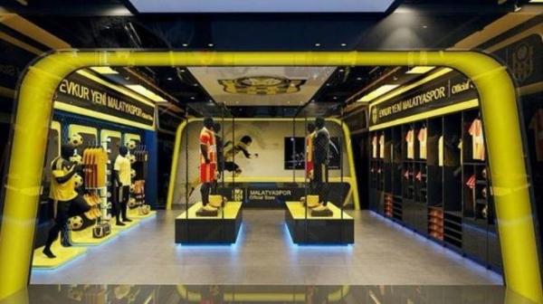 Yeni Malatyaspor'a yeni kulüp mağazası!