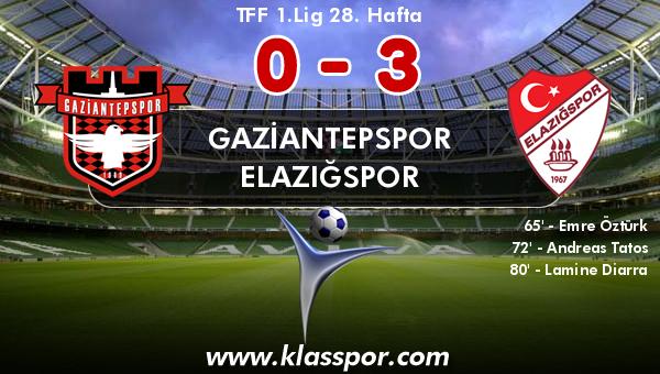 Gaziantepspor 0 - Elazığspor 3