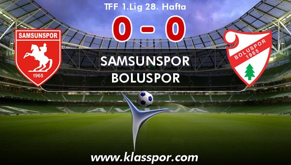 Samsunspor 0 - Boluspor 0