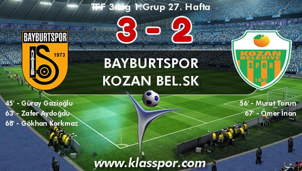 Bayburtspor 3 - Kozan Bel.SK 2