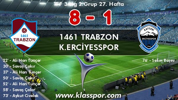 1461 Trabzon 8 - K.Erciyesspor 1