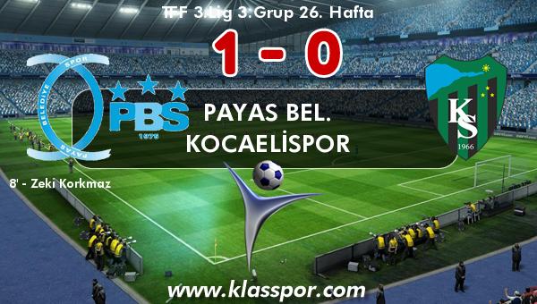 Payas Bel. 1 - Kocaelispor 0