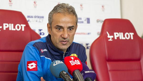 İsmail Kartal: Tek hedefimiz bu takımı Süper Lig'e çıkarmak