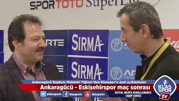 """Mehmet Yiğiner'den """"Süper Lige geliyoruz"""" mesajı"""