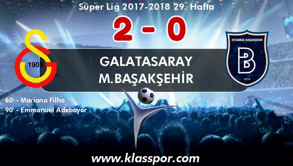 Galatasaray 2 - M.Başakşehir 0
