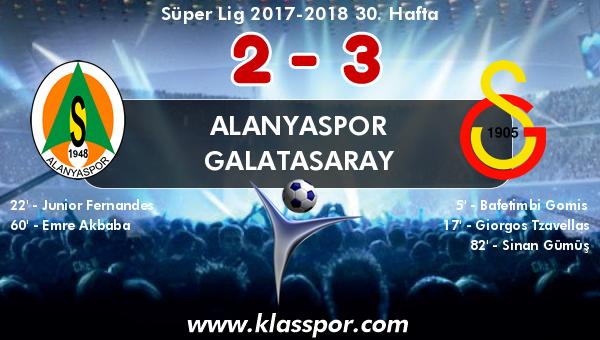 Alanyaspor 2 - Galatasaray 3