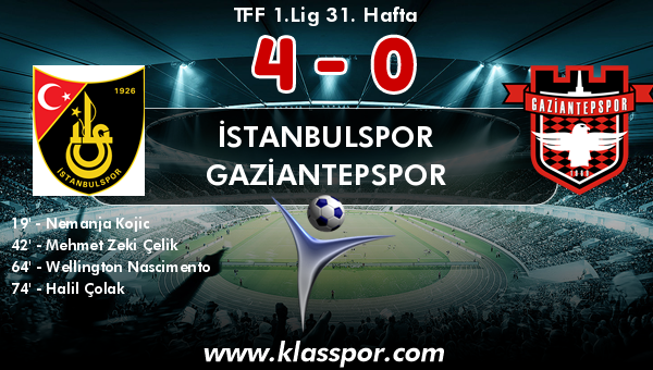 İstanbulspor 4 - Gaziantepspor 0