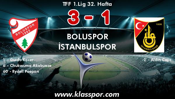 Boluspor 3 - İstanbulspor 1