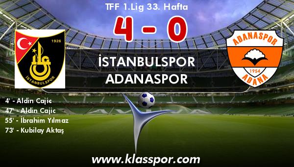 İstanbulspor 4 - Adanaspor 0