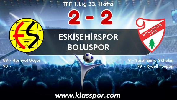 Eskişehirspor 2 - Boluspor 2