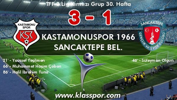 Kastamonuspor 1966 3 - Sancaktepe Bel. 1