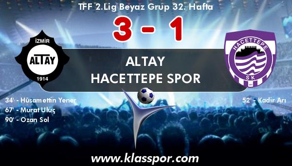 Altay 3 - Hacettepe Spor 1