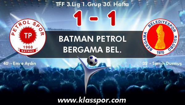 Batman Petrol 1 - Bergama Bel. 1
