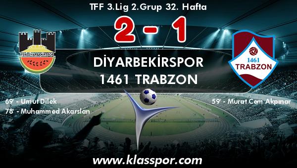 Diyarbekirspor 2 - 1461 Trabzon 1