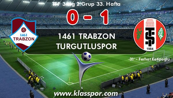 1461 Trabzon 0 - Turgutluspor 1