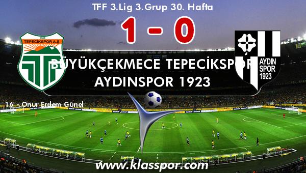 Büyükçekmece Tepecikspor 1 - Aydınspor 1923 0
