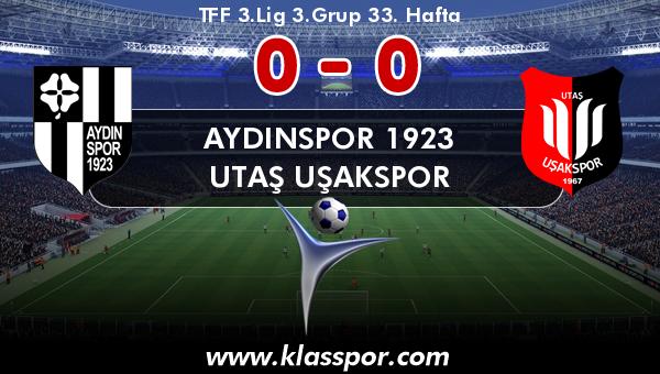 Aydınspor 1923 0 - Utaş Uşakspor 0
