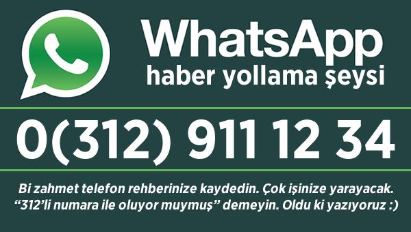 Whatsapp haber yollama şeyimizin numarası değişti...