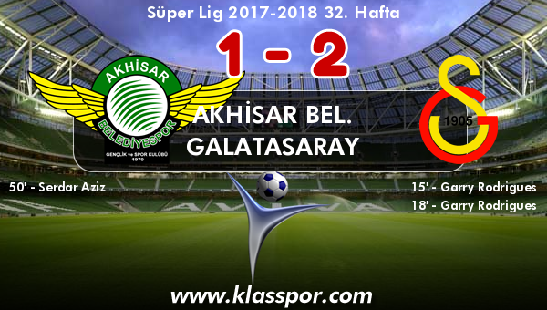 Akhisar Bel. 1 - Galatasaray 2
