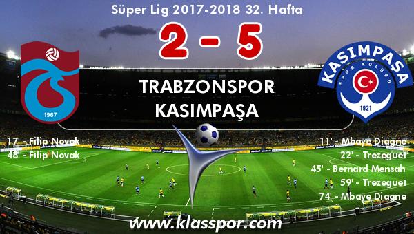Trabzonspor 2 - Kasımpaşa 5