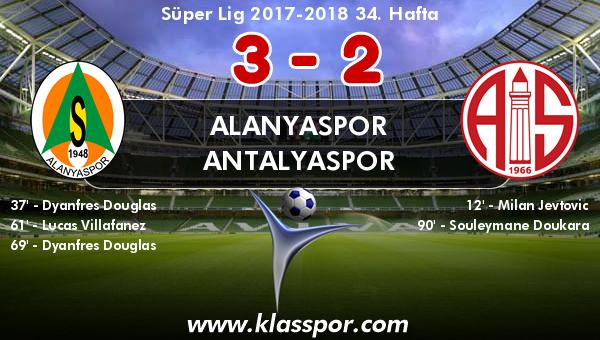 Alanyaspor 3 - Antalyaspor 2