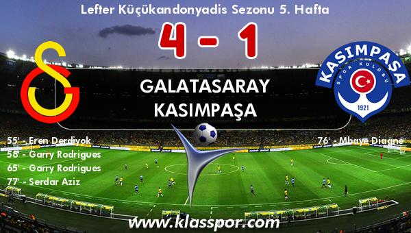 Galatasaray 4 - Kasımpaşa 1