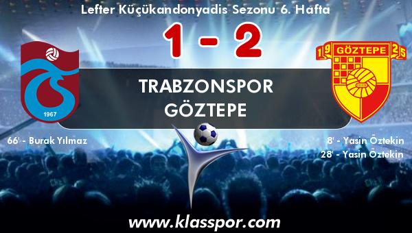 Trabzonspor 1 - Göztepe 2