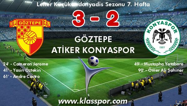 Göztepe 3 - Atiker Konyaspor 2