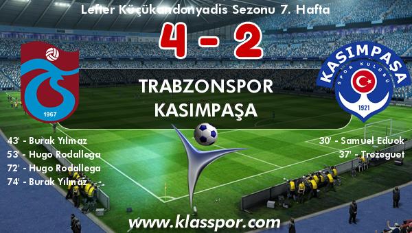Trabzonspor 4 - Kasımpaşa 2