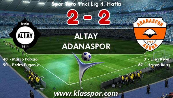 Altay 2 - Adanaspor 2