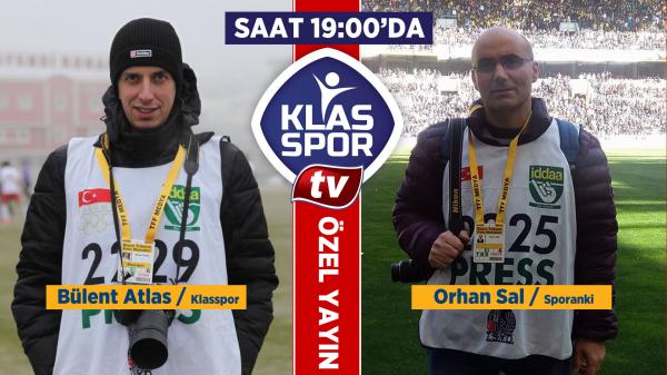 Bülent Atlas ve Orhan Sal canlı yayında Ankara sporunu değerlendiriyor...