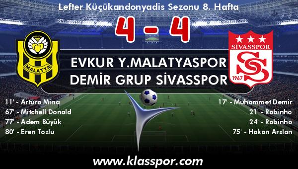 Evkur Y.Malatyaspor 4 - Demir Grup Sivasspor 4
