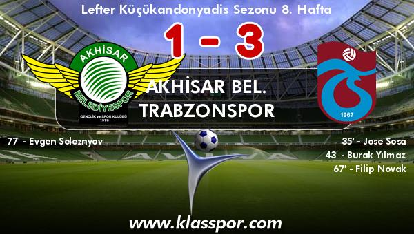 Akhisar Bel. 1 - Trabzonspor 3