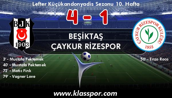 Beşiktaş 4 - Çaykur Rizespor 1