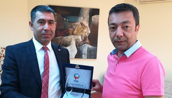 TSYD Ankara'da görev değişikliği