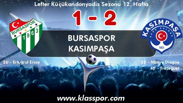 Bursaspor 1 - Kasımpaşa 2