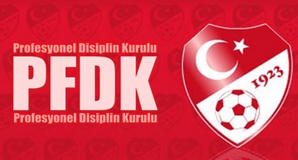 PFDK'dan 13 futbolcuya ihtar