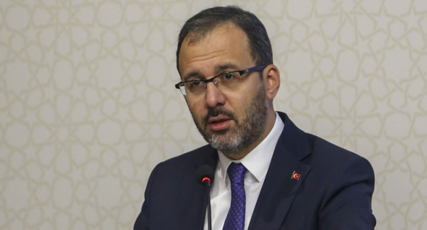 """Bakan Kasapoğlu: """"Sporu tabana yayacağız"""""""