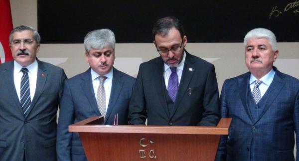 """Bakan Kasapoğlu: """"Müjdelerimiz olacak"""""""