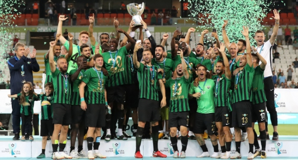 Ege'de yılın takımı Akhisarspor