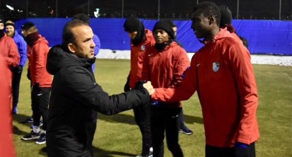 Erzurumspor'da MKE Ankaragücü maçı hazırlıkları