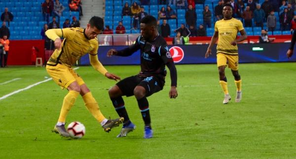 Yeni Malatyaspor'un serisini Trabzon bozdu